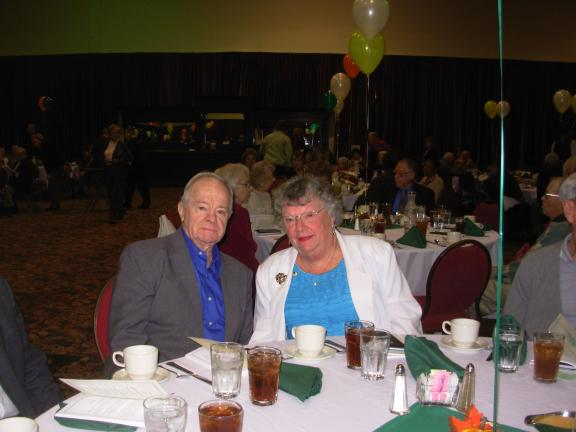 ADELE R. ARGOT/SPECIAL TO THE TIMES NEWS Ray and June Butler of McMichaels were among the RSVP volunteers recognized for over 1,000 hours of service to the Monroe County community through the RSVP program during the past program year.