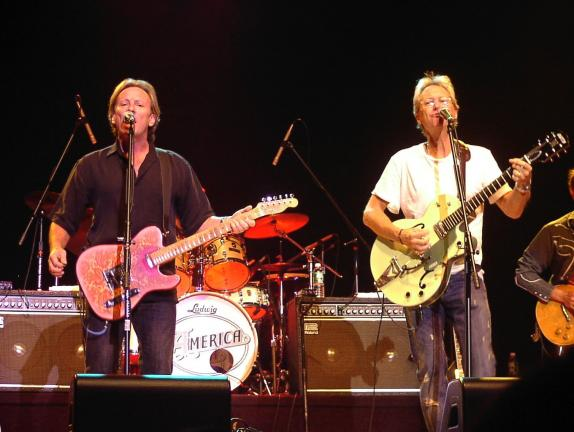JOE PLASKO/TIMES NEWS America (Dewey Bunnell and Gerry Beckley, from left) will perform at Penn's Peak on Thursday, Oct. 29.