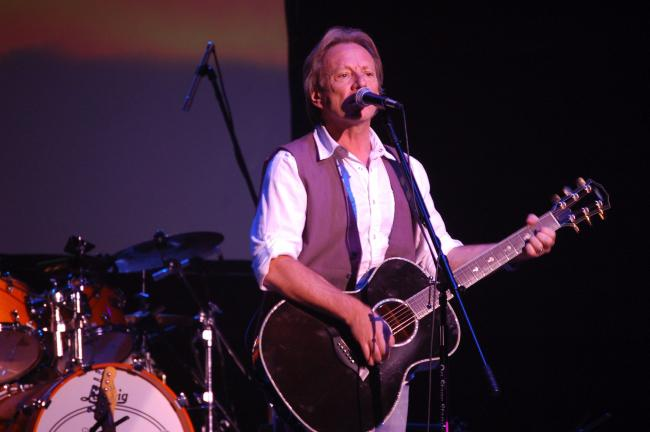 "Dewey Bunnell takes the Penn's Peak crowd on a ride on ""Ventura Highway"". JOE PLASKO/TIMES NEWS"