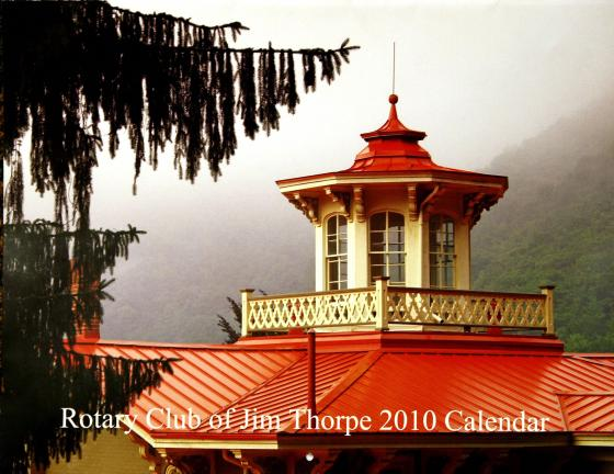 AL ZAGOFSKY/SPECIAL TO THE TIMES NEWS The cover photo of Rotary Club of Jim Thorpe 2010 Calendar capturing the Italianate roof of the Asa Packer Mansion set against its rugged mountainous background illustrates the spiritual mix of Victorian…