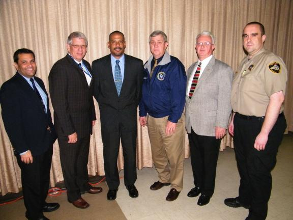 ANDREW LEIBENGUTH/SPECIAL TO THE TIMES NEWS Seminar speakers, pictured from left, are Schuylkill County Emergency Management Services Director Arthur Kaplan, Bureau of Emergency Medical Services director Joseph W. Schmider, PA House of…