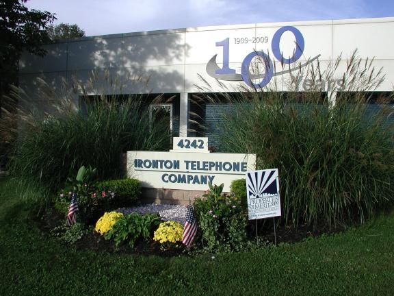 Special to the TIMES NEWS Ironton Telephone Company has been chosen as Business of the Month by the Greater Northern Lehigh Chamber of Commerce. This year marks the company's 100th anniversary.