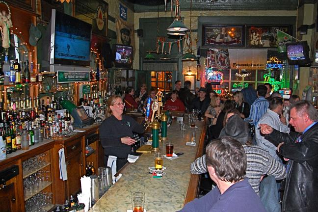 "VICTOR IZZO/SPECIAL TO THE TIMES NEWS An ""inside"" look at the The Molly Maguires Pub which will be closing its doors this coming Sunday, December 20th 2009 at its present location in Jim Thorpe to soon reopen a short distance away at 5 Hazard Square…"