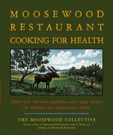 "This book cover released by Simon & Schuster shows ""Moosewood Restaurant Cooking For Health"".(AP Photo/Simon & Schuster)**NO SALES**"