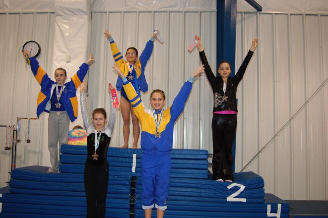 "Gail Maholick/TIMES NEWS Tumble With Denise, Inc. recently hosted the Pennsylvania Progressive League Meet, ""Gymnastics Resolutions"" at their new facility on Oak Grove Drive, Lehighton. There were 114 gymnasts participating in the event and well…"