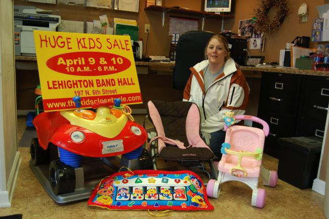 "Danielle Andreas of Lehighton is planning to host ""Kids Closet Sale"" to help young families sell and purchase good quality children's items during her consignment sale. The event will be held April 8, 9, and 10 at the Lehighton Band Hall, 197 N…"