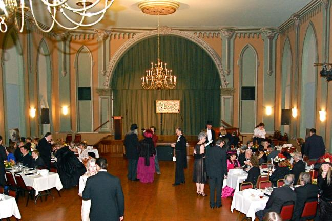 VICTOR IZZO/TIMES NEWS The Mauch Chunk Museum Ballroom (shown hosting the Victorian Fall Ball) will be the location for the St. Patrick's Day Post Parade Party on Sunday.