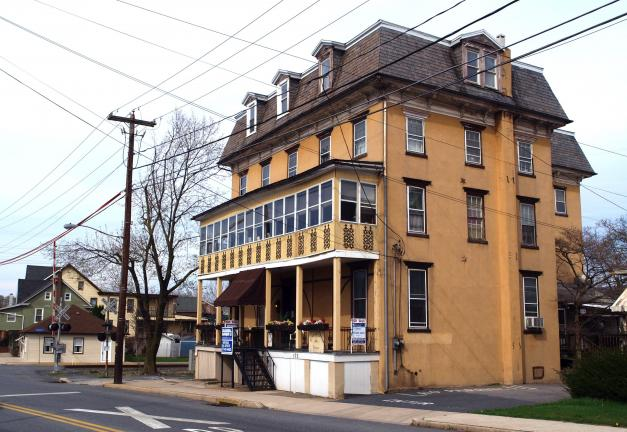 AL ZAGOFSKY/SPECIAL TO THE TIMES NEWS Pennsylvania House, a fixture at 103 Main St. in Walnutport since its opening in 1869, has been put up for sale by Carl Fenstermaker, who owned and operated the hotel with his late wife, Marjorie, since 1976.