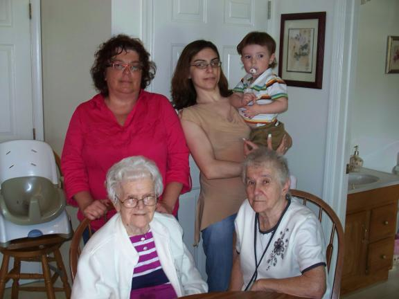 Five generations and counting