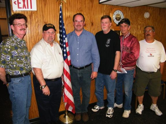ANDREW LEIBENGUTH/SPECIAL TO THE TIMES NEWS A new monthly roundtable group, consisting of Commanders, leaders, and representatives from 21 Carbon County veterans organizations, met at the Lehighton American Legion Thursday evening. Some of the many…