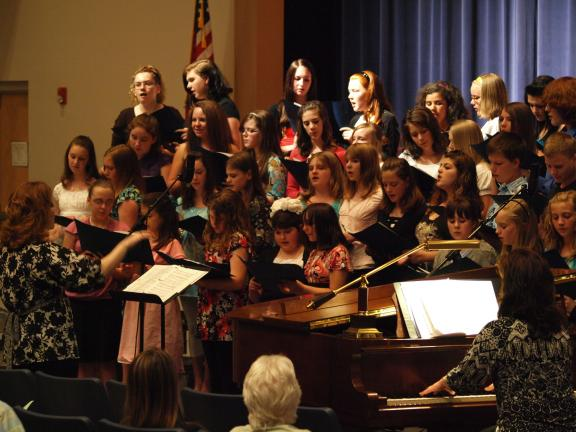 The Tamaqua Middle School Chorus Concert was held Thursday at the Tamaqua Auditorium. Featured songs ranged from Stand By Me to Little House. A number of students provided solo performances and their skills on the guitar. In addition to staff and…