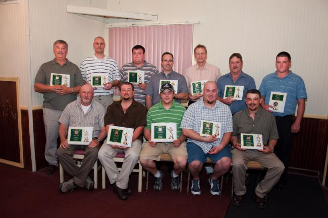 AMY ZUBEK/TIMES NEWS PV Dart League top shooters The top 15 shooters of the Panther Valley Dart League were honored recently during the league's annual dart banquet, held at Kelly's Irish Pub in Lansford. Top shooters are, front, from left, Don…