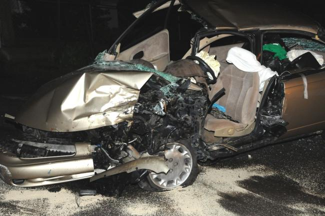 LARRY NEFF/SPECIAL TO THE TIMES NEWS Five persons were seriously injured late Friday night when involved in a head on accident along Route 209 in Mahoning Township. The crash occurred just north of Lehighton near the intersection of Route 209 and…
