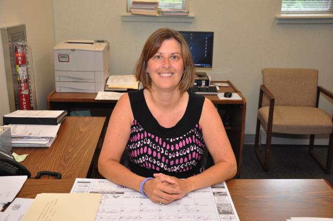 AMY ZUBEK/TIMES NEWS Lisa R. Dart has been named the new director of elections for Carbon County. She will officially begin as director on June 7.