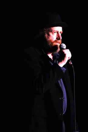 Ron Gower/TIMES NEWS Steven Wright performs at Penn's Peak in Jim Thorpe.
