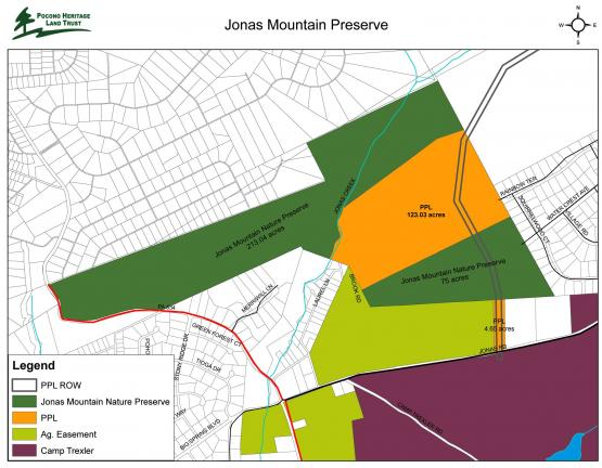 Jonas Mountain Nature Preserve Will Increase In Size By Acres - Map of electric utilities in the us