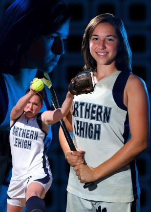 Julie Wagaman - TIMES NEWS Softball Player of the Year