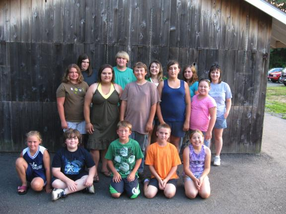 STACEY SOLT/SPECIAL TO THE TIMES NEWS Members of the Carbon County 4-H Livestock Club gather for one of their last meetings before the Carbon County Fair. Each year, area residents between the ages of 8 and 18 raise and care for livestock in…