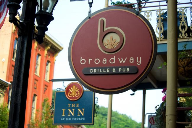 BOB FORD/TIMES NEWS The Broadway Grille & Pub opened recently at 24 Broadway in Jim Thorpe.