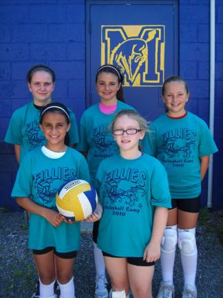 Marian grade school volleyball camp