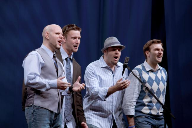 'Round Midnight, an award winning Barbershop quartet from the New York area, will perform at the Coalcracker Chorus 60th Annual Harmony Extravaganza on Aug. 29.