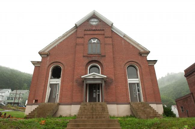 BOB MILLER/TIMES NEWS The former Sacred Heart church in Nesquehoning.