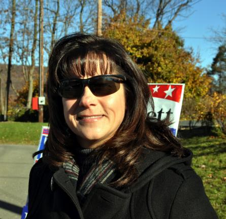 "Linda Rice, West Penn Township - ""I'm thankful for my health, my daughters and my boyfriend."""