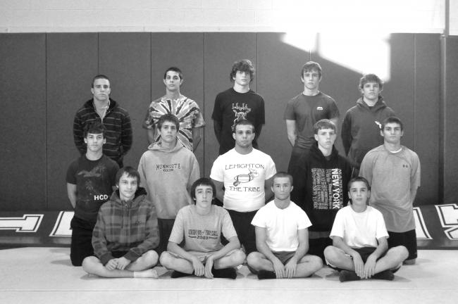 Mike Feifel/TIMES NEWS Lehighton wrestling team members for the 2010-11 season include, front row from left, Chris Bosco, Nick Schaeffer, Jacob Hoats, Anthony Farano; middle row, Kurtis Brownmiller, Jason McEvoy, Mike Balliet, Jeremy Rehrig,…