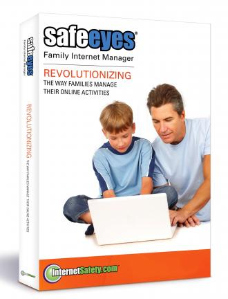 This product image courtesy of InternetSafety.com shows the Safe Eyes product. Dan Nainan can't trust himself to work at his computer without clicking on distractions, so he uses Safe Eyes, an Internet-blocking program, to shut down his Web access…