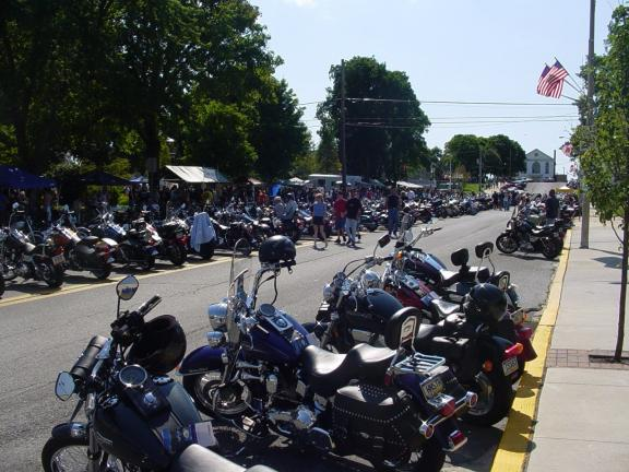 RON GOWER/TIMES NEWS The annual Bike Night in Lehighton, held the second Saturday in August for the past 12 years, always attracts thousands of motorcycle enthusiasts. Last night Lehighton Borough Council was informed that no Bike Night is planned…