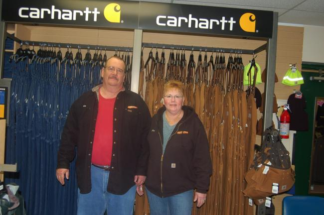 TERRY AHNER/TIMES NEWS Susan and Dean Meckes, owners of My Store in Palmerton, will hold a three-day celebration Friday through Sunday to commemorate the shop's 10-year anniversary.