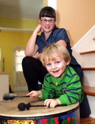 AL ZAGOFSKY/SPECIAL TO THE TIMES NEWS Rachel DeMicco was looking for a family fun activity for her active three year old son Julius. She discovered Music Together, and when no classes were available locally, she decided to become certified and start…