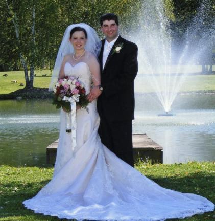 Mr. and Mrs. Travis Heisler
