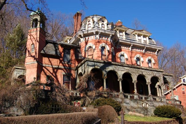 AMY MILLER/TIMES NEWS FILE PHOTO The Harry Packer Mansion will be the setting for the fourth annual Carbon County SWAN luncheon on Saturday.