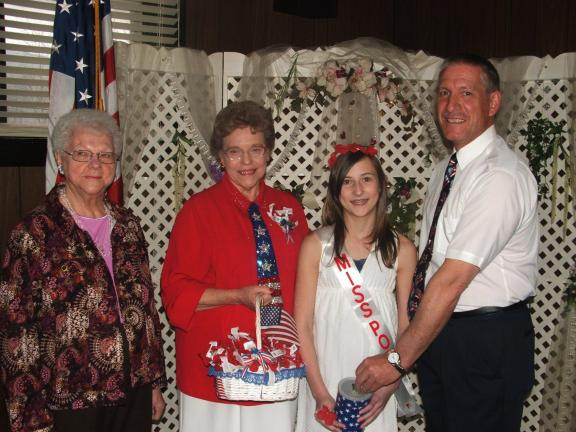 MICHAEL A HEERY/SPECIAL TO THE TIMES NEWS Shoemaker-Haydt Unit 314 Legion Auxiliary has named McKena Christman Miss Poppy 2011. Pictured left to right are Gladys Balliet, President of Unit 314 Legion Auxiliary; LaRue Fritz, Poppy Chairman of Unit…