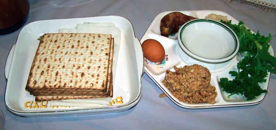 File photo The Passover Seder plate contains various symbolic foods that will be eaten or referred to during the course of the meal.