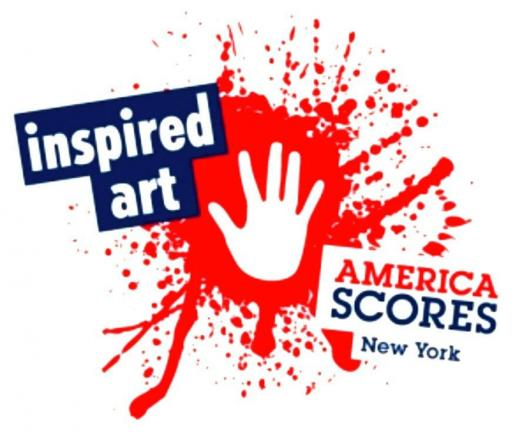 The Inspired Art Project enlists local artists to create and donate original works, inspired by original poetry written by child poet-athletes of America SCORES New York's after school program.