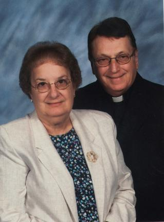The Rev. and Mrs. Richard L. Hinkle