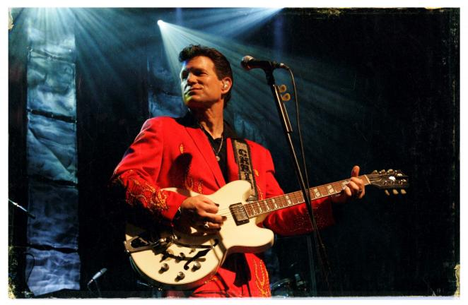 Special to the TIMES NEWS Chris Isaak will stage a concert Sunday at Penn's Peak in Jim Thorpe. The event begins at 8 p.m.