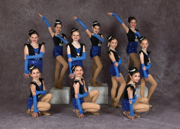 @$:SPECIAL TO THE TIMES NEWS Junior Impact Dance Team, front row from left, Lillian Brown, Brianna Holtzer, Angeline Castagna. Back row, Paige Hemingway, Jordyn Zwetolitz, Mackenzie Sabatino, Hope Maiatico, Kaitlyn Shlanta, Tia Brownmiller and Jenna…