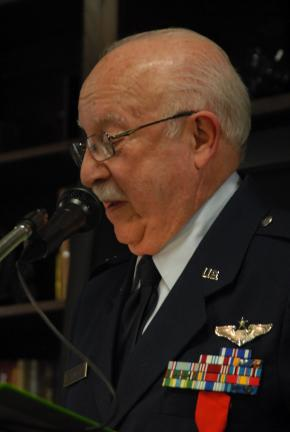 File photo Major Nathan Kline, USAF, Retired, will serve as the featured speaker for Slatington's 31st annual Heritage Day Celebration. The event will be held at 10 a.m. July 4 at the Slatington Baptist Church.