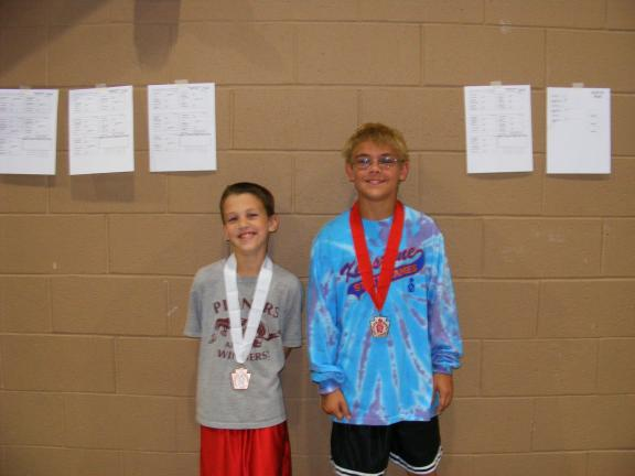 McHugh, Krapf medal at Keystone Games