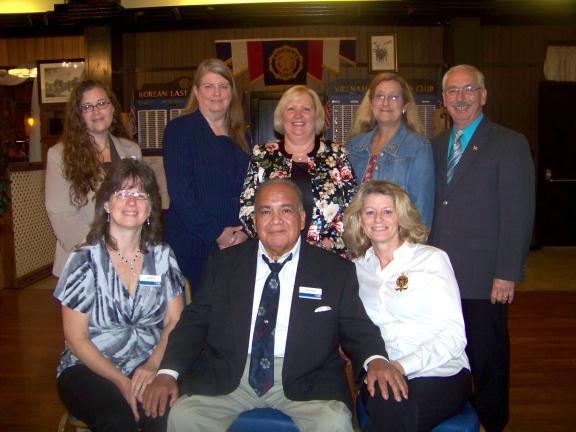 Gail Maholick/TIMES NEWS Missy Binder, president of the United Way of Carbon County, announced the individuals who are the 2012 United Way of Carbon County board of directors. From left are, front row, Dr. Lisa Bleicher, vice president campaign of…