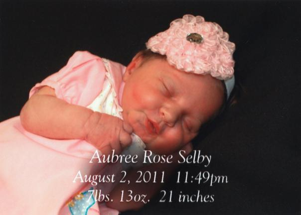 Aubree Rose Selby