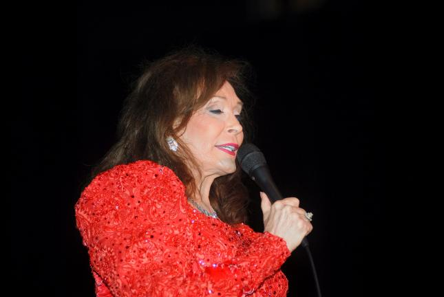 Country singer Loretta Lynn will be making a return to Penn's Peak on Friday, Oct. 14. Lynn is shown in a previous Penn's Peak concert.
