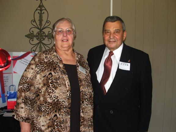 Carbon Chapter of PASR President Marjorie Balliet (left) introduced guest speaker Dr. Louis Sportelli (right) during the recent fall general membership meeting of the organization, which was held at Mahoning Valley Country Club. Dr. Sportelli's…