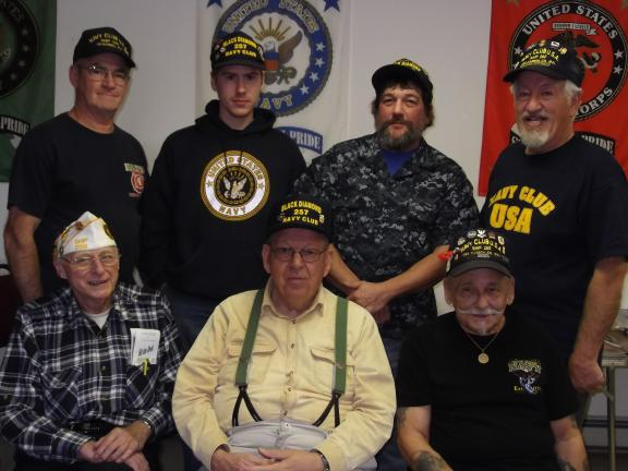 CAROL ZICKLER/SPECIAL TO THE TIMES NEWS The Carbon County Navy Club hosted the quarterly meeting of the squadron at the Nesquehoning VFW in Nesquehoning over the weekend. This is the first time that the Pennyslvania Squadron met here and they…