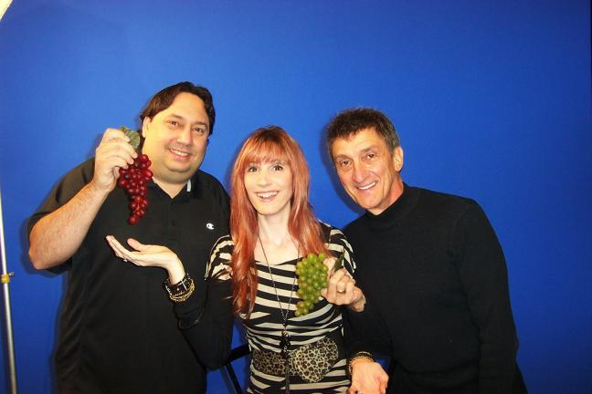 "Jeff Bonomo, left, from the group ""There and Back Again"", Leighann Burk from the band ""YMI"" and Richie Molinaro from ""Richie Molinaro & Mr. Lou"""