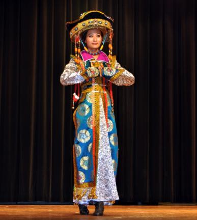 DONALD R. SERFASS/TIMES NEWS  The exotic color and customs of the most populous nation on earth were showcased in November 2010, when 'Colorful China' was presented at the Tamaqua Area Auditorium. On Dec. 16, a similar-sized, world-renowned Chinese…