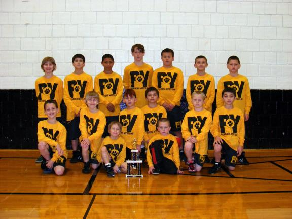 Panther Valley Elementary wrestlers bring home awards